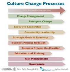 Culture Change Processes. #SocialBusiness. Enterprise 2.0 Implementation