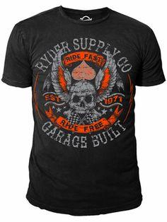 Ryder Supply Clothing Rebels T-shirt (Black)