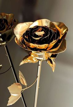rose, gold, and flowers image Grey And Gold, Black Gold, Tapete Gold, Gold Everything, Gold Aesthetic, Gold Wallpaper, Trendy Wallpaper, Shades Of Gold, Foto Art