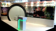 Custom build exhibition stand for SDL, 2013 www.mustardsolutions.co.uk