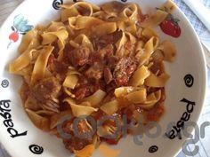 Μοσχαράκι στη χύτρα με χυλοπίτες - Συνταγή εύκολες - Σχετικά με Κρέας, Μοσχάρι και βουβάλι, Ζυμαρικά και ρύζια, Ζυμαρικά, Μακαρονάδες - Ποσότητα 4 άτομα - Χρόνος ετοιμασίας λιγότερο από 60 λεπτά