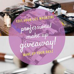 Κέρδισε ένα επαγγελματικό μακιγιάζ και συμβουλές μακιγιάζ από τη Βίλλυ και το Make up your Dayz http://ift.tt/2jQ3e78  #edityourlifemag