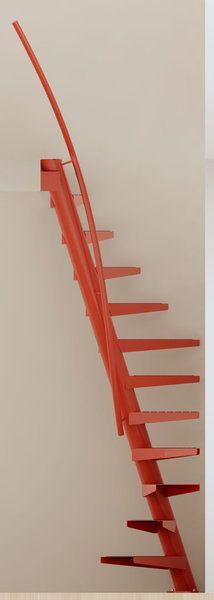 Un design aérien pour cet escalier 1 M².