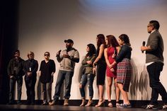 Question and Answer after screening at True/False 2017 film fest The Cage Fighter (Photo by Michael Tooley)
