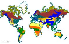 In this site you will discover facts about our planet, its complex patterns of biomes, plants, and animals, and how climates ultimately determine the biomes of our Earth.