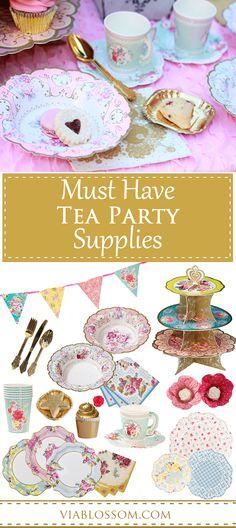 A Princess Tea Party Childrens Birthday Party Girls Birthday