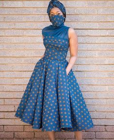 Short African Dresses, Latest African Fashion Dresses, African Print Dresses, African Print Fashion, Sotho Traditional Dresses, African Fashion Traditional, Seshweshwe Dresses, Summer Dresses, Gown Style Dress