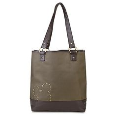 Studded Mickey Mouse Tote