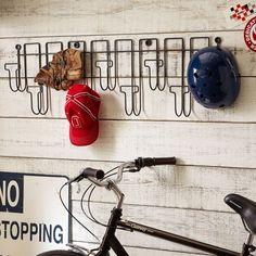 Wall Mount Hat Rack, Metal - Pottery Barn Teen - $49.00