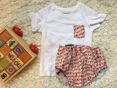 Conjunto de bombacho y camiseta para niño #bebé #handmade #baby #clothes #hechoamano