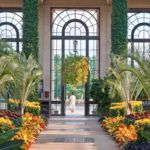 Conservatory at Longwood Gardens in Kennett Square, Pa.