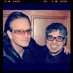 Me and #Bono from #U2 - @Gary Hartmann-Houdijk- #webstagram