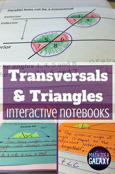Parallel Lines Cut by a Transversal Maze ~ Finding Angle Measures ...