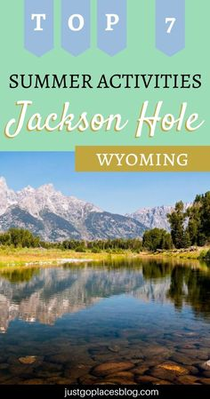 Here's our pick of top 7 summer activities in Jackson Hole in Wyoming. Wyoming Travel Destinations | Backpack | Backpacking | Vacation | Budget | Off the Beaten Path | Wanderlust | Jackson Hole Wyoming | Summer Vacation | vacation ideas | Wyoming vacation | Wyoming travel | Wyoming Travel Things To Do | Wyoming Travel Summer | Jackson Hole Wyoming Vacation | Wyoming vacation summer | Wyoming vacation with kids #travel #honeymoon #vacation #offthebeatenpath #bucketlist #wanderlust #Wyoming… Wyoming Vacation, Vacation Trips, Vacation Ideas, Jackson Hole Wyoming, Summer Activities, Rafting, Family Travel, Travel Destinations, Places To Go