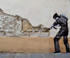 Explore Finest Street Art And Graffiti Pics Worldwide On Artelocal Street Art Utopia, 3d Street Art, Amazing Street Art, Street Art Graffiti, Street Artists, Graffiti Artists, Arte Banksy, Bansky, Urban Intervention