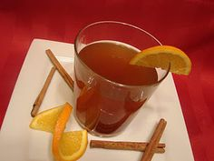 Orange Spiced Cider - Smells heavenly and tastes pretty good too! :)