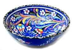 Hand-painted Turkish Med Bowl