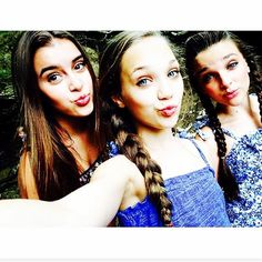 Kalani, Maddie and Kendall❤️