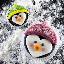 Image result for penguin cupcakes christmas