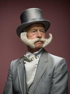 that's quite a mustache!