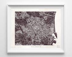 Valencia Street Map Print