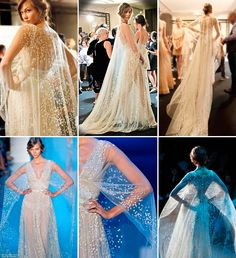 18 vestidos de noiva com capa - Constance Zahn