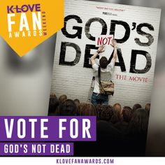 God's Not Dead - Nominated for a K-Love Award - God's Not Dead - starring Kevin Sorbo - Shane Harper - Dean Cain - Newsboys - Willie & Korie Robertson - David A.R. White - Now playing in theaters - Pure Flix - Christian Movies - #PureFlix #ChristianMovies #Newsboys #KevinSorbo #ShaneHarper #DeanCain #WillieRobertson www.PureFlix.com www.GodsNotDead.com