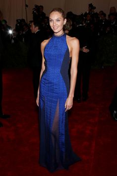 Rosie Huntington-Whiteley @ The Met Costume Institute Gala 2012