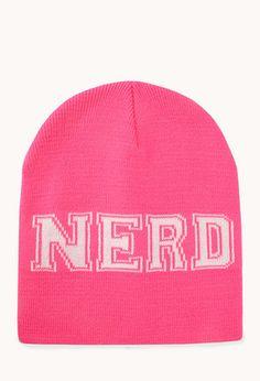 e9f9c48246b Geek Girl Nerd Beanie