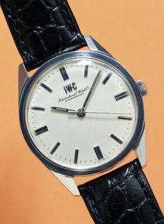 International Watch Co. Ref.810  Cal.89 C 1960'S #vintagewatch #vintagewatches #iwc #vintageiwc #international #cal89 #silverdial #horology #horolin