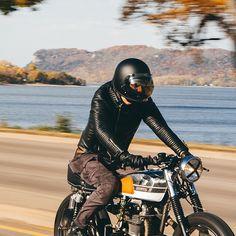 BODA riders with @caferacersofinstagram  #bodaskins #luxury #leather #jacket #mens #fashion #menswear #style #biker