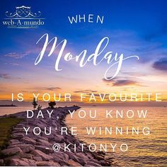 When Monday is your Favourite day, you know you're winning Stress, Hustle Hard, Entrepreneur Quotes, Daily Motivation, Daily Quotes, Success Quotes, Role Models, Affirmations, Let It Be