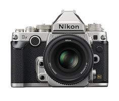 Nikon Df FX-format DSLR Camera with AF-S NIKKOR Special Edition Lens, Silver - Refurbished by Nikon U. must have camera and accessories for beginners that will help beginners boost their skills & gain confidence in photography! Camera With Flip Screen, Full Frame Camera, Small Camera, Photography Reviews, Still Photography, Photography Gear, Nikon Df, Camera Nikon, Dslr Cameras