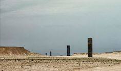 Q&A: Richard Serra on His Monumental Qatari Desert Sculpture | BLOUIN ARTINFO What I do is use steel in order to collect space in relationship to how people understand their movement through space. So the piece deals with the nature of duration and time in relation to walking and looking.
