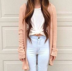 how to wear high waisted jeans