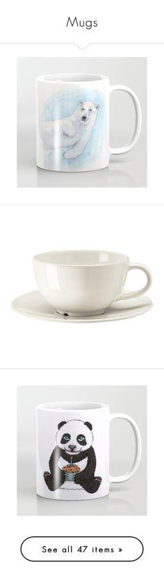 """Mugs"" by errecsak on Polyvore featuring grey, ikea, home, kitchen & dining, drinkware, polar bear mug, other, children's room, children's bedding and dog mug"
