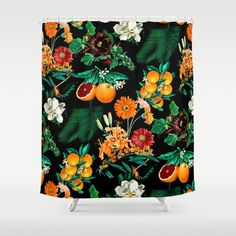 Check out society6curated.com for more! @society6 #floral #flowers #shower #curtain #home #decor #homedecor #apartment #apartmentgoals #sophomoreyear #sophomore #bathroom #bath #bedandbath #bathe #unique #art #design #creativity #creative #fun #git #giftidea #gifts #giftideas #pretty #beauty #beautiful #botanical #red #green #orange #fruit #white #black #night