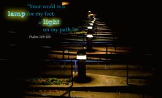 The Bible is like a light that can reveal the path before us especially when things seem darkest. #scripture #Bible