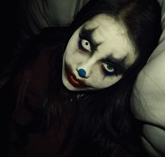 How To Do Scary Clown Makeup For Halloween Ideas 2012