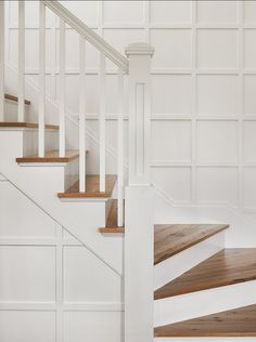 #Staircase #Millwork - mdf and slats