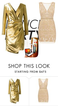 """""""New Years Eve"""" by annkitrichdge on Polyvore featuring Yves Saint Laurent and Nicole Miller"""