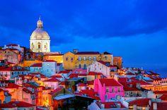 Não podia faltar! Lisboa, capital de Portugal 😚😚