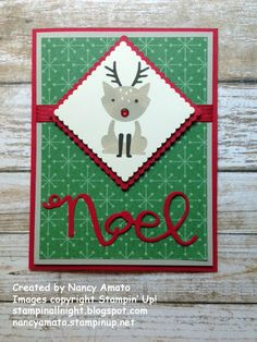 """Stampin' All Night: Rudolph, the """"Foxy Friends"""" Reindeer"""