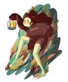 Got a light. Illustration by Asyle.