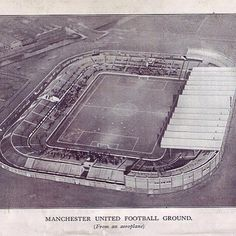 Old Trafford British Football, Manchester United Football, Soccer Stadium, Football Stadiums, Man Utd Fc, Eric Cantona, Paisley Scotland, Great Names, Futbol