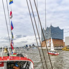 Hamburg Hafengeburtstag 2017 Feuerschiff Elbe 3 Elbphilharmonie   Bildschönes Hamburg