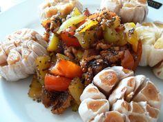 Pečený česnek s chia semínky a vlašskými ořechy - Powered by @ultimaterecipe