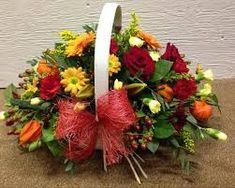 Image result for trug flower arrangements