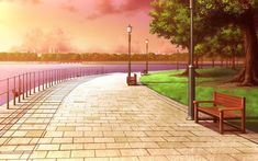 backgrounds 20 New Ideas For Landscape Background Drawing Episode Interactive Backgrounds, Episode Backgrounds, Anime Backgrounds Wallpapers, Anime Scenery Wallpaper, Cute Backgrounds, Aesthetic Backgrounds, Scenic Wallpaper, Scenery Background, Background Drawing