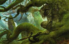 fantasy art cernunnos john howe wallpaper